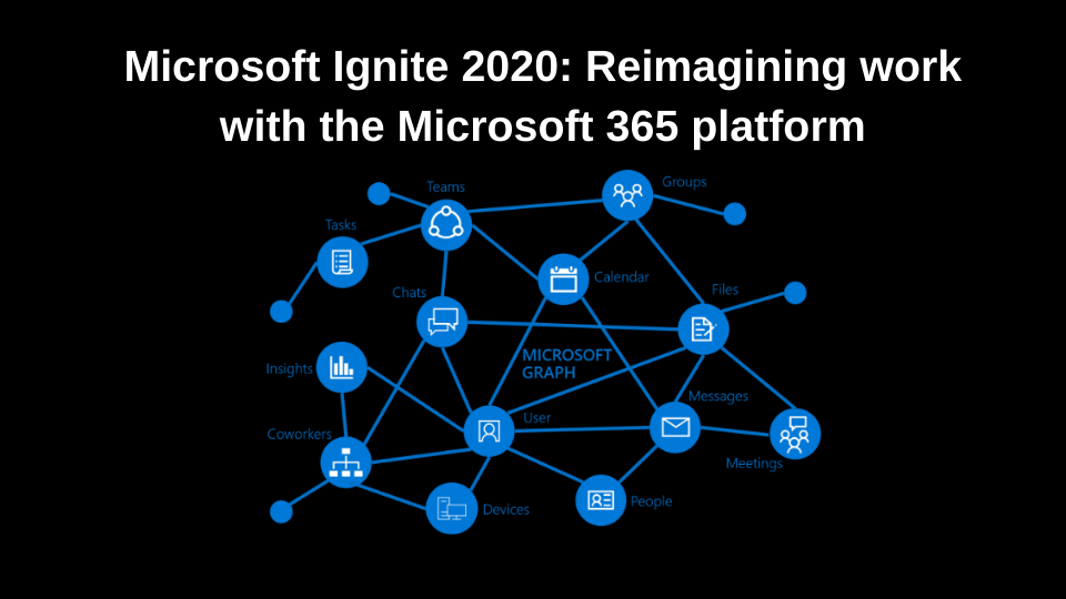 Microsoft Ignite 2020: Reimagining work with the Microsoft 365 platform