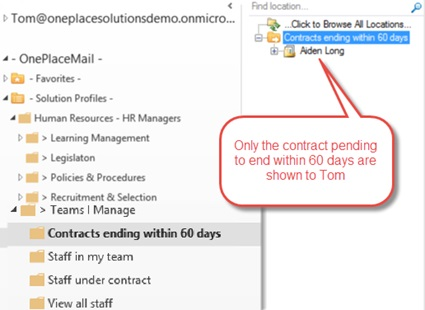 sharepoint hr advise screen