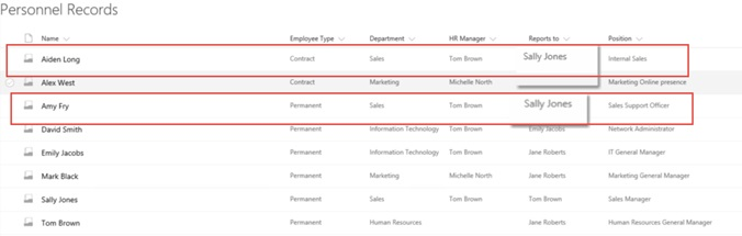 sharepoint hr personnel records 2