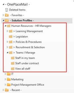 sharepoint hr solution profile