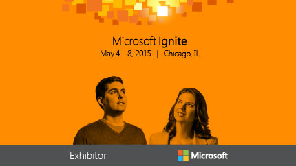 Microsoft Ignite 2015 - OnePlace Solutions Product Suite launch – Visit Booth 537