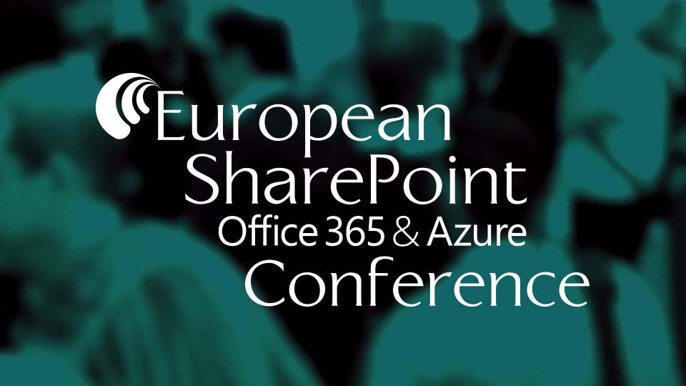 European SharePoint Conference 2017