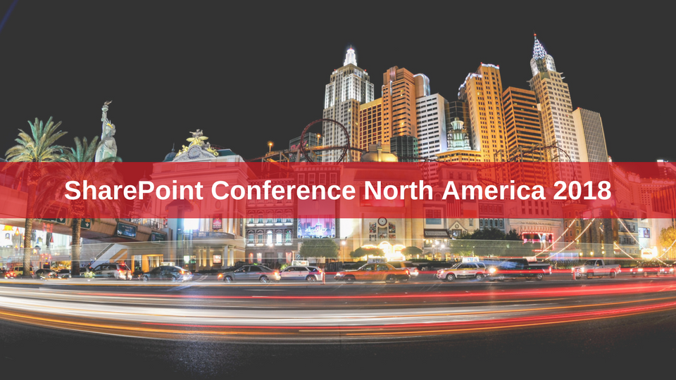 Visit us at SharePoint Conference North America in Vegas!