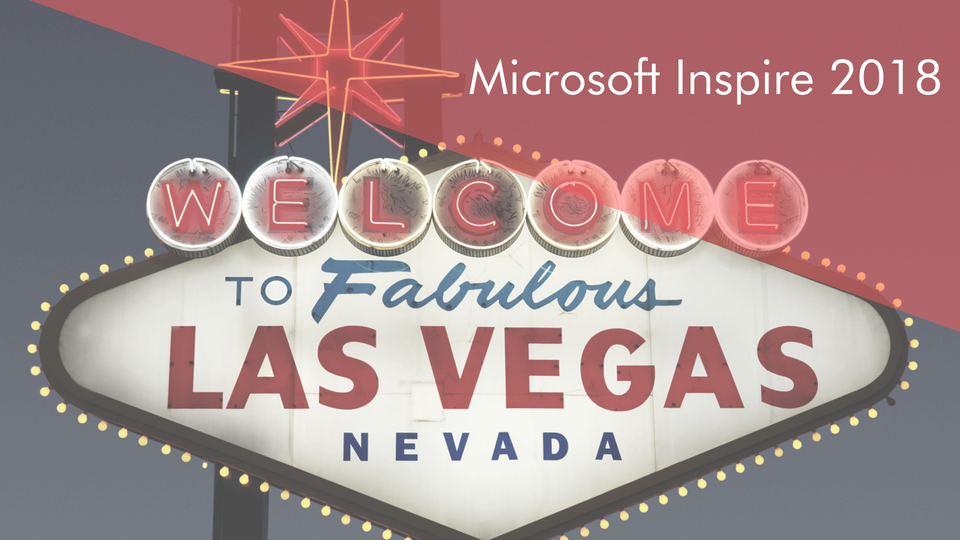 Are you going to Microsoft Inspire 2018?