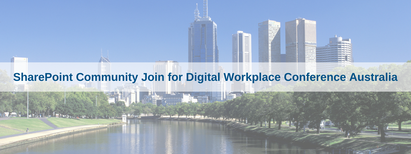 SharePoint Community Join for DWC Australia