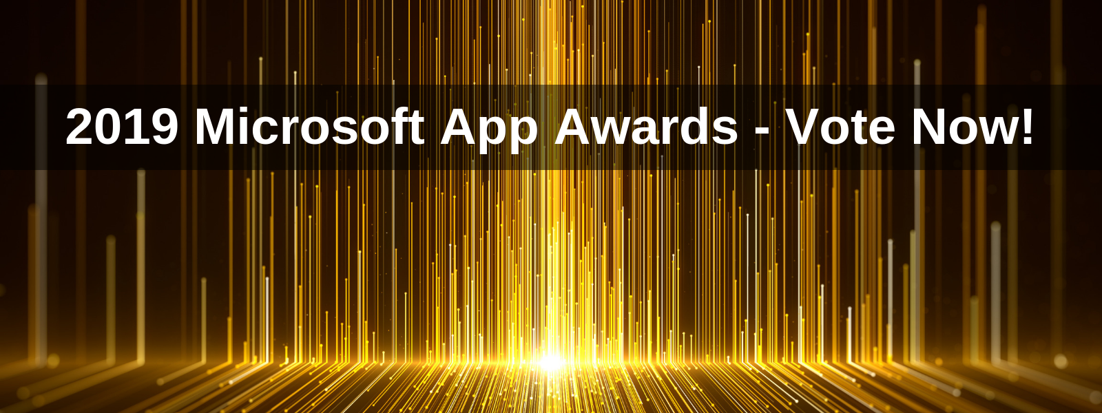 2019 Microsoft App Awards - Vote Now!