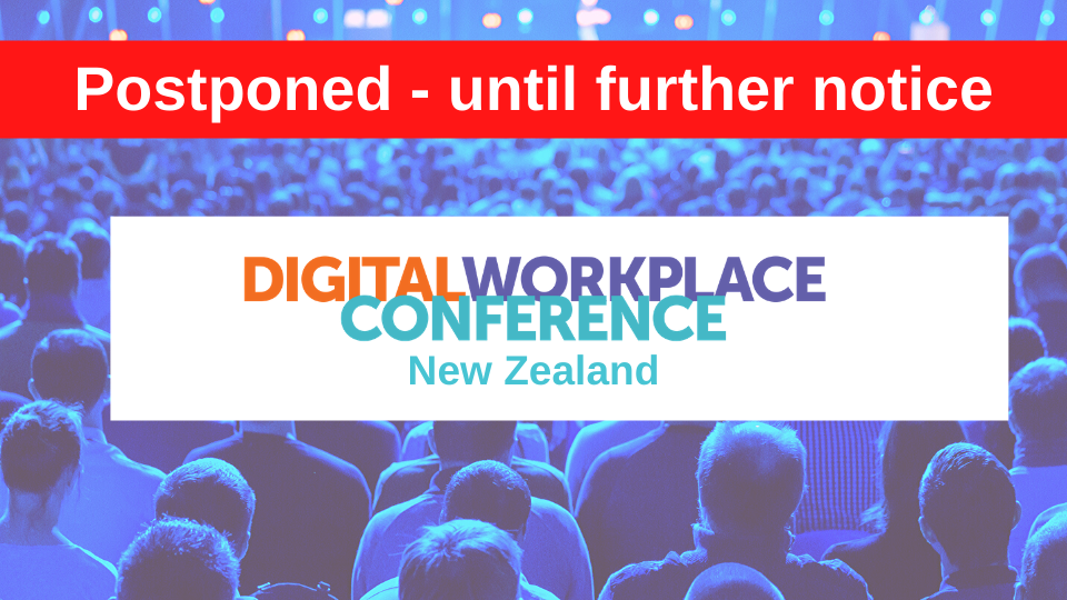 Digital Workplace Conference: New Zealand 2020