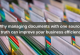 Why managing documents with one source of truth can improve your business efficiency