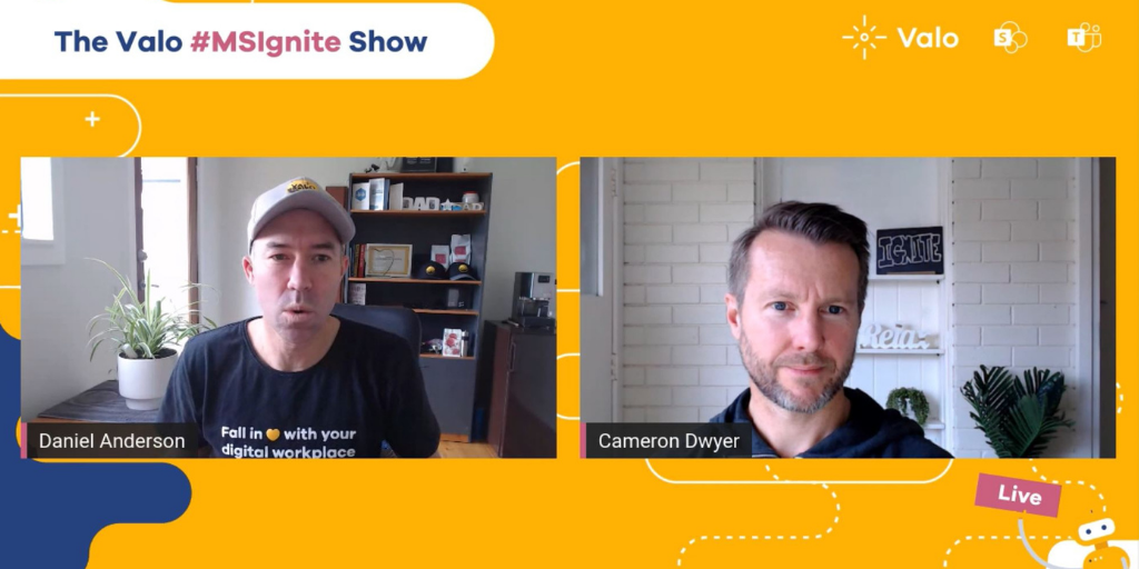 Pre-Ignite interview with Cameron Dwyer & Valo's Daniel Anderson.