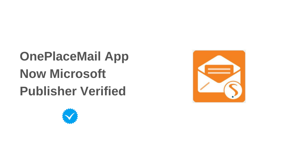 OnePlace Solutions awarded Publisher Verified Status by Microsoft